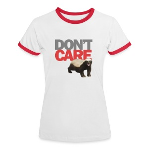 Honey Badger - Frauen Kontrast-T-Shirt