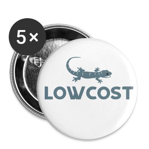 Low Cost - Lot de 5 moyens badges (32 mm)