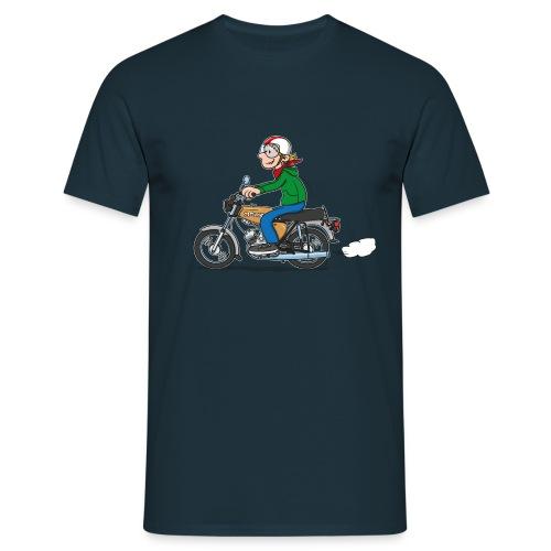 Comic S50-Fahrer - Männer T-Shirt