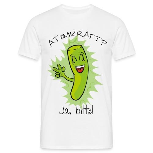 Atomkraft? Ja, bitte! - farbig - Männer T-Shirt