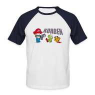 Tee shirts ~ Tee shirt baseball manches courtes Homme ~ Manches couleur Shoot