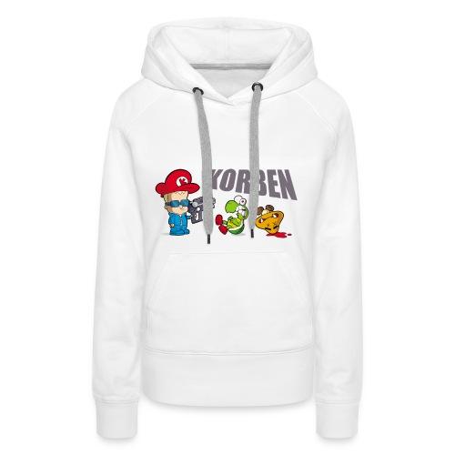 Sweat capuche Dino - Sweat-shirt à capuche Premium pour femmes