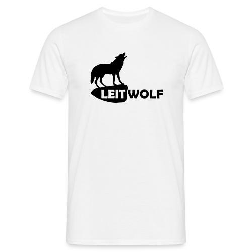 tier shirt wolf leitwolf anführer rudel canis lupus alphatier - Männer T-Shirt