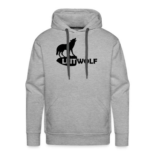 tier shirt wolf leitwolf anführer rudel canis lupus alphatier - Männer Premium Hoodie