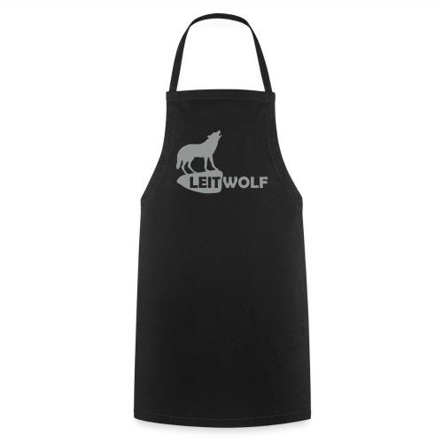 tier shirt wolf leitwolf anführer rudel canis lupus alphatier - Kochschürze