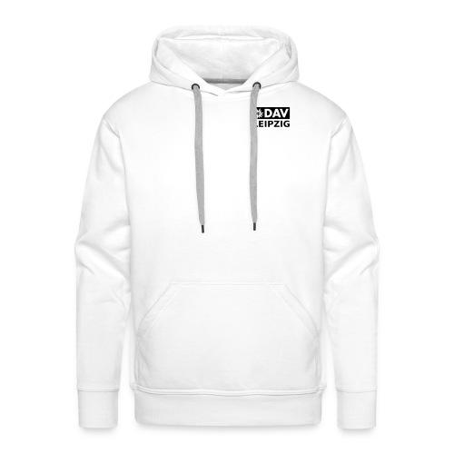 Kapuzenpullover Männer, schwarzes Logo - Männer Premium Hoodie