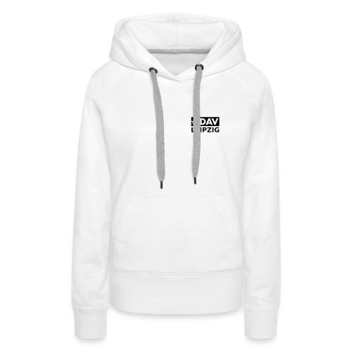 Kapuzenpullover Frauen, schwarzes Logo - Frauen Premium Hoodie