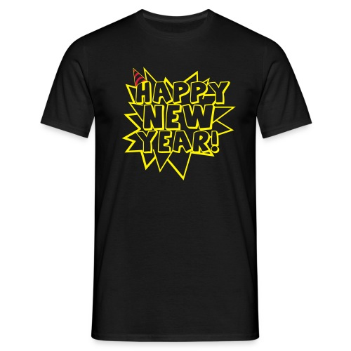 Happy New Year! - Männer T-Shirt