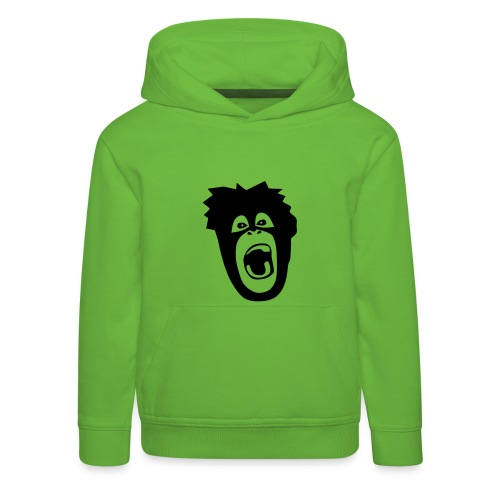 Tier Shirt Affe Gorilla Schimpanse Orang Utan Monkey Ape King Kong Godzilla - Kinder Premium Hoodie