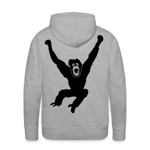 Tier Shirt Affe Gorilla Schimpanse Orang Utan Monkey Ape King Kong Godzilla - Männer Premium Hoodie