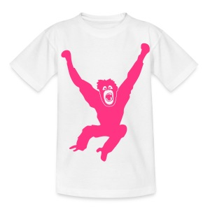 Tier Shirt Affe Gorilla Schimpanse Orang Utan Monkey Ape King Kong Godzilla - Teenager T-Shirt