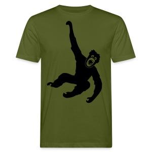 Tier Shirt Affe Gorilla Schimpanse Orang Utan Monkey Ape King Kong Godzilla - Männer Bio-T-Shirt