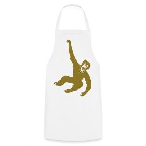 Tier Shirt Affe Gorilla Schimpanse Orang Utan Monkey Ape King Kong Godzilla - Kochschürze