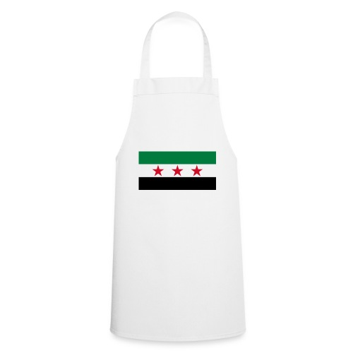 pre-1963 Syria Flag  - Cooking Apron