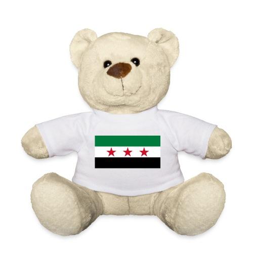 pre-1963 Syria Flag  - Teddy Bear