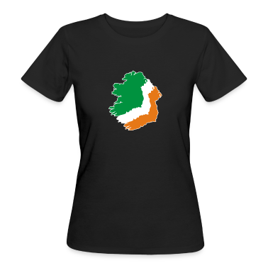Digital - Ireland irish Shamrock Saint Sankt Patricks Day Map Irland Irisch Kleeblatt T-Shirts