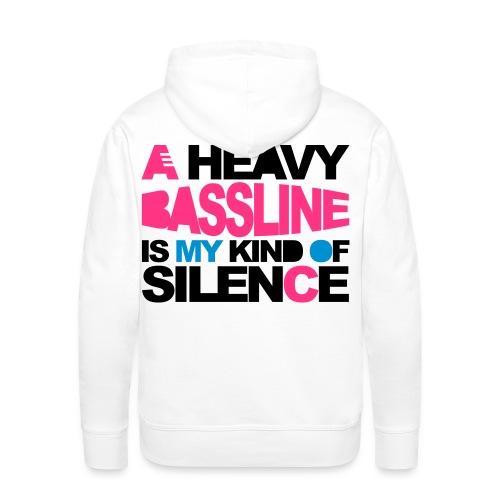 veste musik - Sweat-shirt à capuche Premium pour hommes