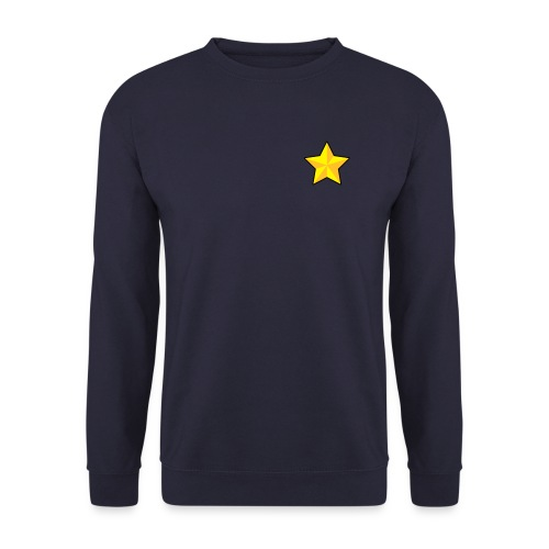 Mens Sweater ~ A Star - Men's Sweatshirt