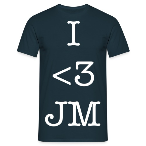 I Love JakeMachinima! - Men's T-Shirt