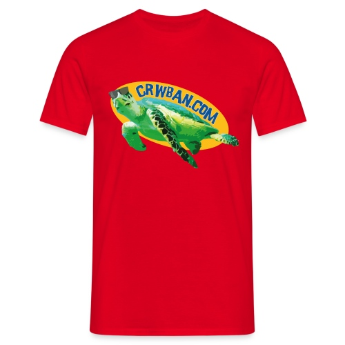 Crysau Crwban - Men's T-Shirt