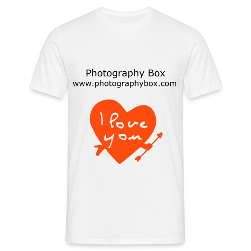 Photography Box - Love - Maglietta da uomo