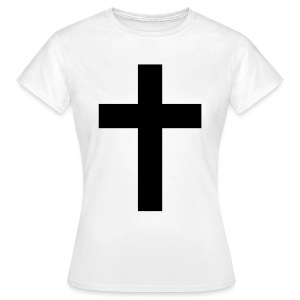 Black ✝♀ - Women's T-Shirt