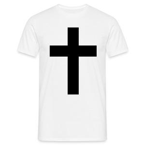 Black ✝♂ - Men's T-Shirt