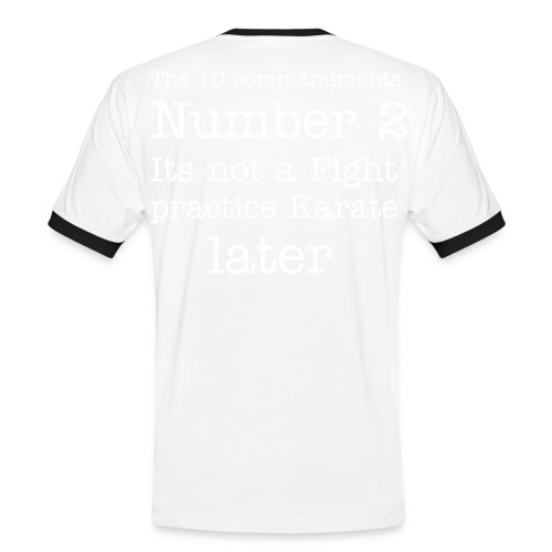 Number 2 - Men's Ringer Shirt