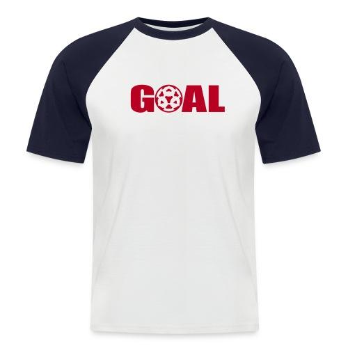 GOAL - Camiseta béisbol manga corta hombre