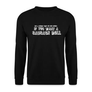 Short Trip for a Sausage Roll - Men's Sweatshirt