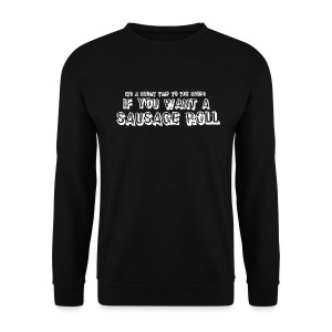 Short Trip for a Sausage Roll - Men's Sweatshirt