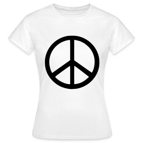 peace ♀ - Women's T-Shirt