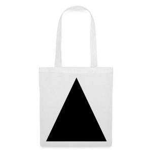 Black Triangle Tote Bag - Tote Bag