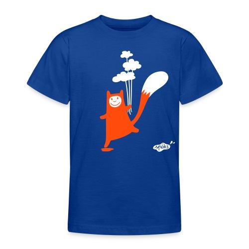 Katzling Kuno mit Wolkenballons - Teenager T-Shirt