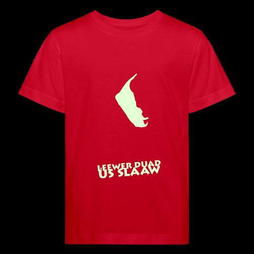 a letjen skel locht - Kinder Bio-T-Shirt