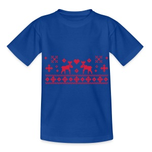 Kid's christmas clasic T-shirt - Teenage T-shirt