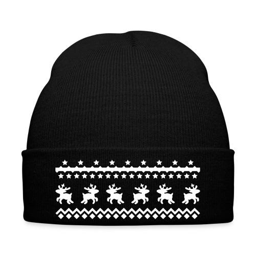 Kid's christmas pattern beanie - Winter Hat