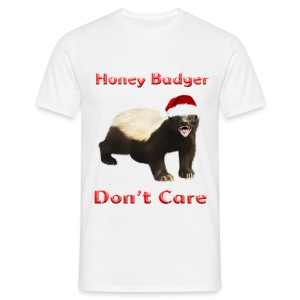 Honey Badger Don't Care - Männer T-Shirt
