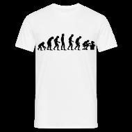 T-shirts ~ Mannen T-shirt ~ Evolution