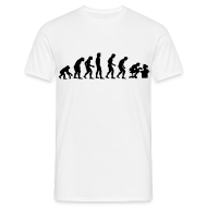 T-shirts ~ Mannen T-shirt ~ Evolution