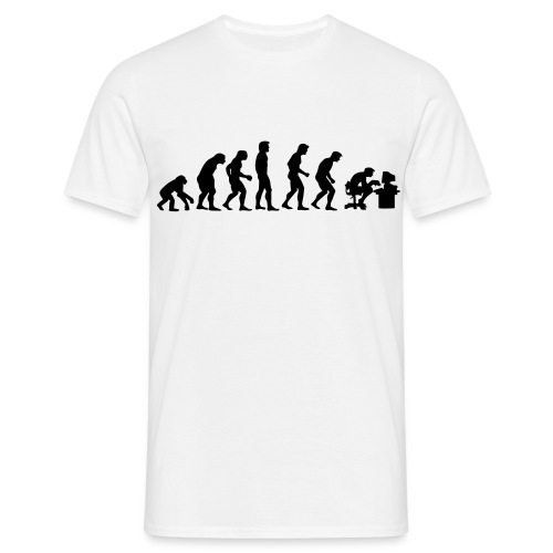 Evolution - Mannen T-shirt