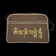 Taschen & Rucksäcke ~ Retro Tasche ~ OM MANI PADME HUM (beige) - Retro Tasche