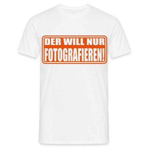 T-shirt: fotografieren - Männer T-Shirt
