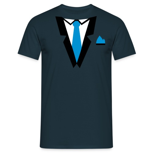 T-shirt: Anzug - Männer T-Shirt