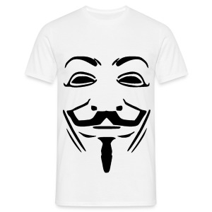 Anonymous Mask - Men's T-Shirt