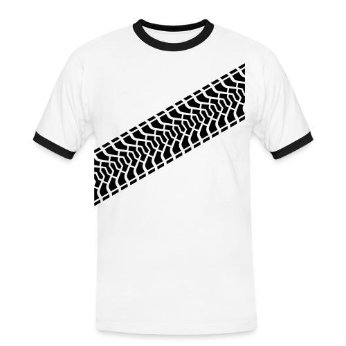 Benzinbruder - Männer Kontrast-T-Shirt