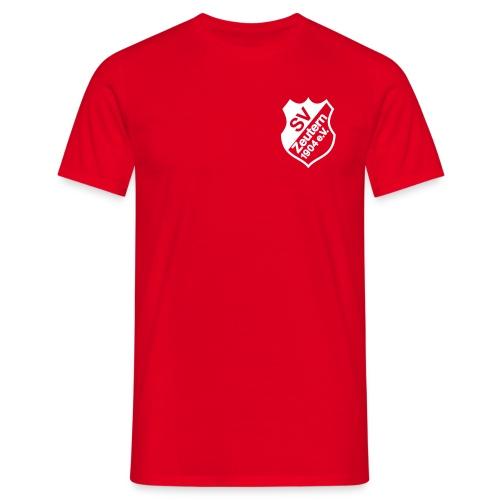 Herren T-Shirt rot - Männer T-Shirt