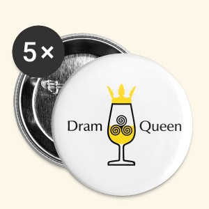 Dram Queen, Button - Buttons groß 56 mm
