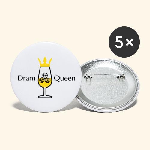 Dram Queen, Button - Buttons groß 56 mm (5er Pack)