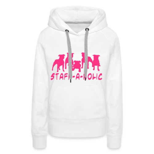 I HEART STAFFY - Women's Premium Hoodie
